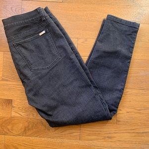 White House Black Market Black Skinny Denim Jeans